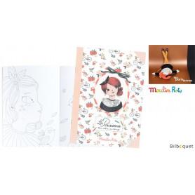 Mon cahier de coloriage Les Parisiennes