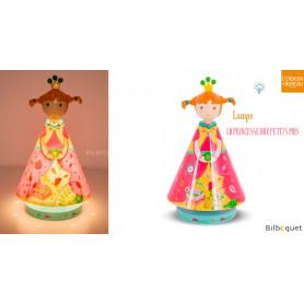 Lampe Luciole - La Princesse aux petits pois
