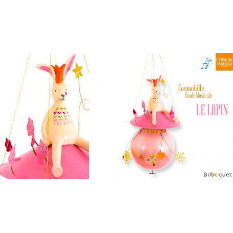 Mobile musical Cosmobille - Le Lapin