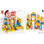 101 cubes en bois - Jouets d'éveil en bois