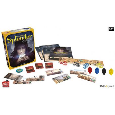 Cities of Splendor - 4 extensions pour le jeu Splendor