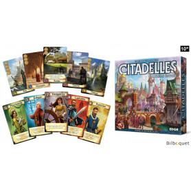 Citadelles - Quatrième édition - Bluff et stratégie