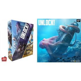 Unlock! Mystery Adventures - Jeu de cartes coopératif