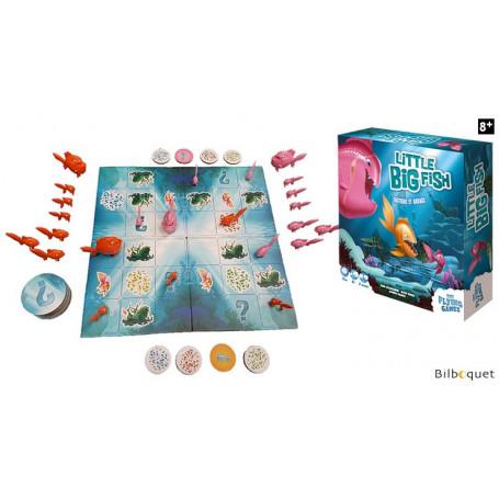 Little Big Fish - Jeu de tactique et d'audace pour 2 joueurs