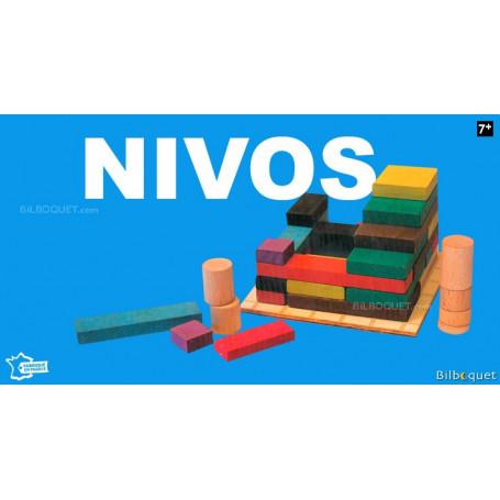 Nivos - Jeu de stratégie en bois