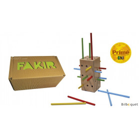 Fakir - Jeu de stratégie en bois