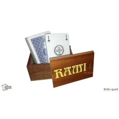 Coffret Rami Sipo - 2 jeux de 52 cartes