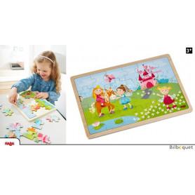Puzzle en bois Princesses