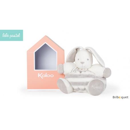 Patapouf lapinou gris & crème 30cm - Bébé Pastel Kaloo