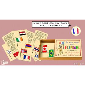 A qui sont ces drapeaux - Jeu Marc Vidal