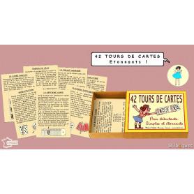 42 tours de cartes - Jeu Marc Vidal