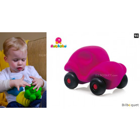 Micro véhicule - Voiture rose - Rubbabu