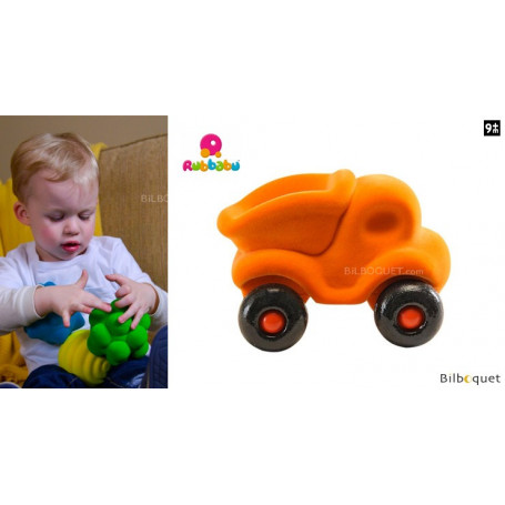 Micro véhicule - Benne orange - Rubbabu