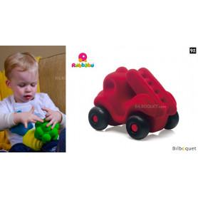 Micro véhicule - Camion de Pompier rouge - Rubbabu