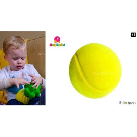 Balle de tennis jaune - Rubbabu