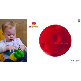 Balle sensorielle - Cratères rouge - Rubbabu