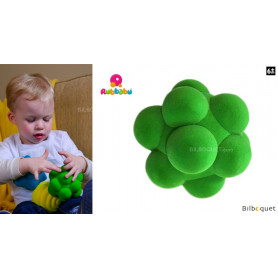 Balle sensorielle - Bulles verte - Rubbabu