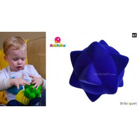Balle tactile - Piques bleues - Rubbabu