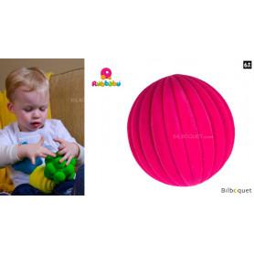 Balle tactile - Mode rose - Rubbabu