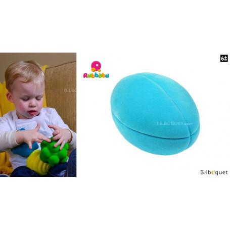 Balle de rugby turquoise - Rubbabu