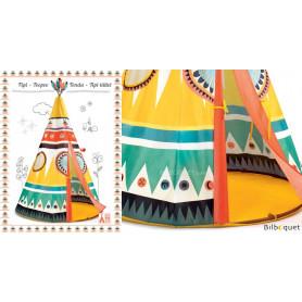 Tipi - Tente d'indien pour les enfants
