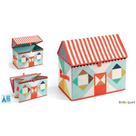 Coffre à jouets maison - Little Big Room by Djeco