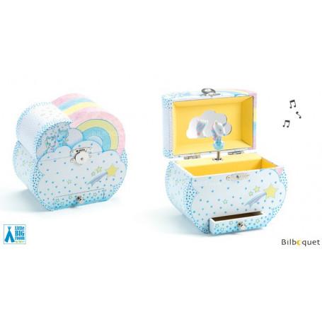 Coffret boîte à musique - Rêves de licornes