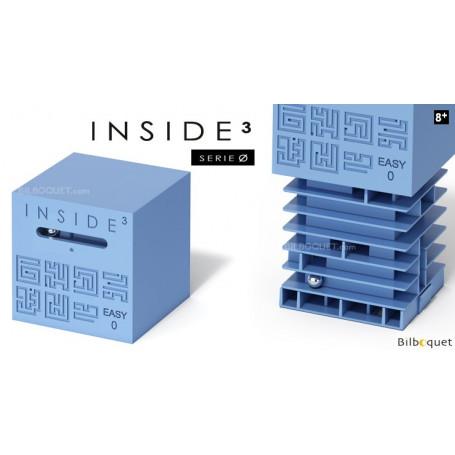 Le labyrinthe 3D Easy 0 bleu - Inside 3 Serie Ø