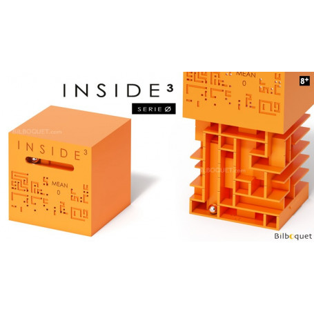 Le labyrinthe 3D Mean 0 orange - Inside 3 Serie Ø