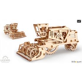 Maquette mécanique Moissonneuse-batteuse - Ugears