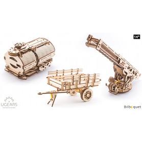 Maquettes mécaniques - Éléments complémentaires pour le camion Ugears