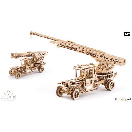 Maquette mécanique Camion de pompier - Ugears