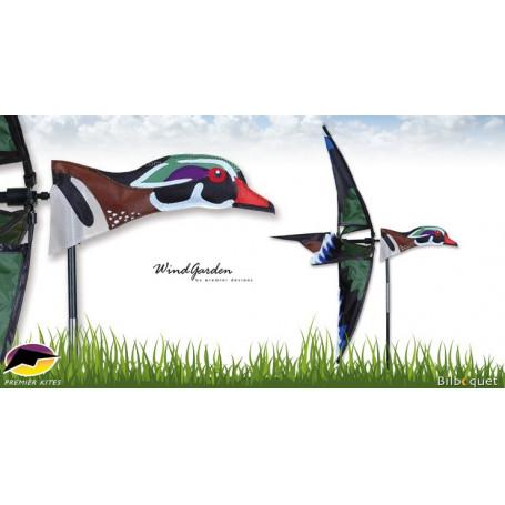Éolienne Oiseau Canard carolin