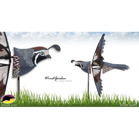 Éolienne Oiseau Caille volante