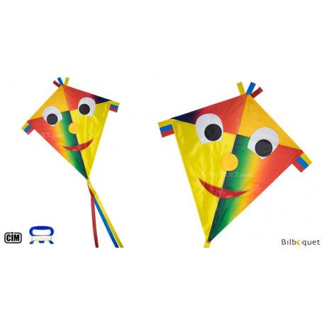 Monofil Happy Eddy Joker 67x70cm - Cerf-volant enfant