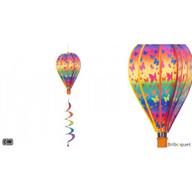 Ballon Satorn Papillons avec Twister Ø28cm