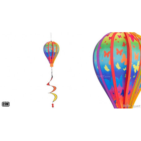 Ballon Satorn Papillons avec Twister Ø17cm