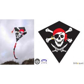 Eddy Pirate 75x75cm - Cerf-volant monofil enfant