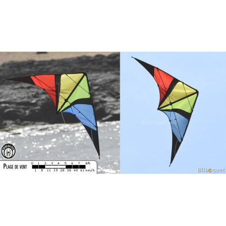 Wingman rainbow - Cerf-volant acrobatique débutant