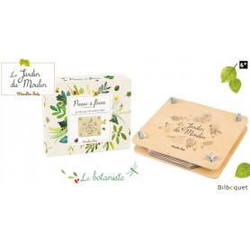 Presse à fleurs - Le Jardin du Moulin - Moulin Roty
