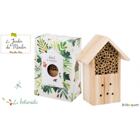 Hôtel à insectes - Le Jardin du Moulin - Moulin Roty