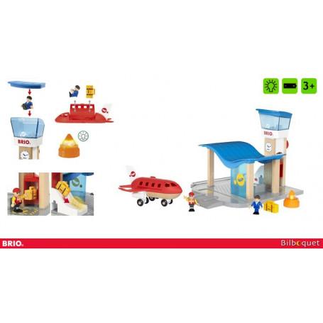 Terminal aéroport et tour de contrôle - Brio
