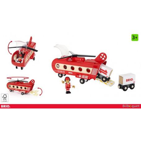 Hélicoptère Cargo - Brio