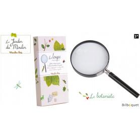 La loupe du botaniste - Le Jardin du Moulin - Moulin Roty