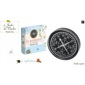 La boussole de l'explorateur - Le Jardin du Moulin - Moulin Roty