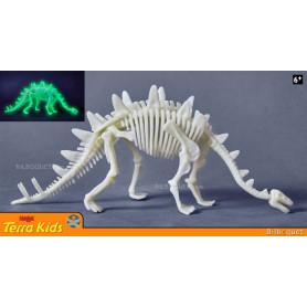 Stégosaure phosphorescent - Terra Kids