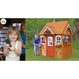Cabane d'extérieur Stoneycreek pour enfants - Mobilier de jardin