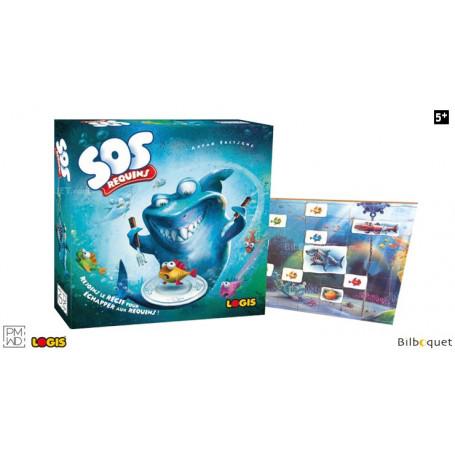 SOS Requins - Jeu d'ambiance