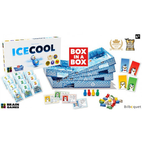 Icecool - Jeu de pichenettes