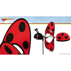 Eolienne Coccinelle Magic Ladybird